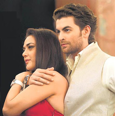 Preity Zinta with Neil Nitin Mukesh to endorse Morellato watches
