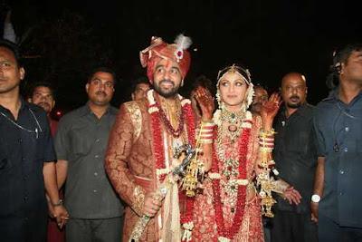 Raj Kundra and Shilpa Shetty got Married