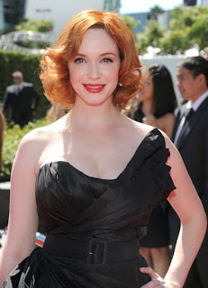 Christina Hendricks obsessed for red hair