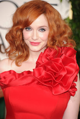 Christina Hendricks stores £533,000 bracelet in her cleavage