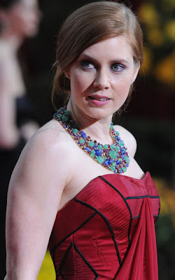 Amy Adams flashes her assets
