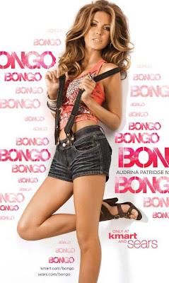 Audrina Patridge for Bongo ad campaign