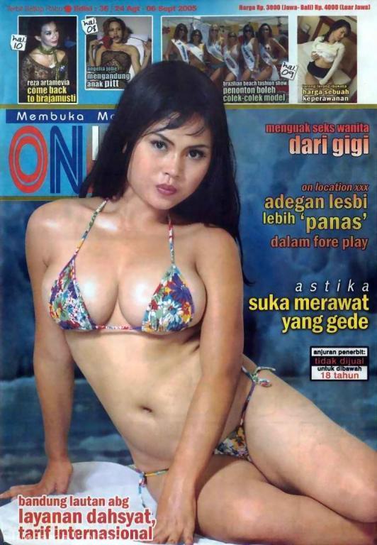 Cover Majalah dewasa dari indonesia