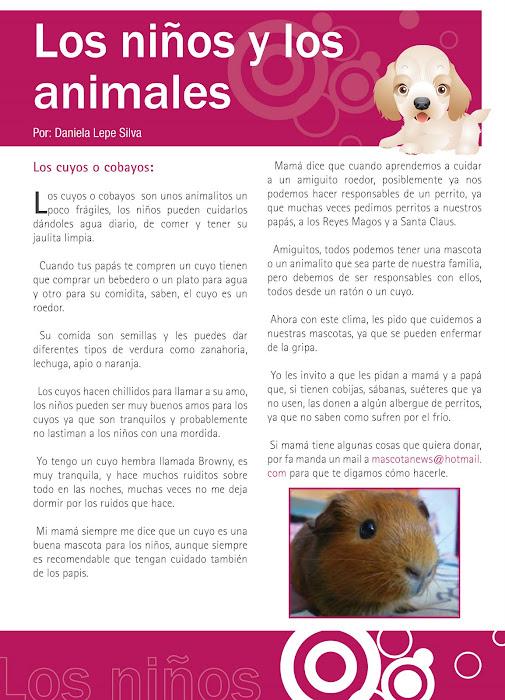 Te presentamos un articulo de nuestra revista