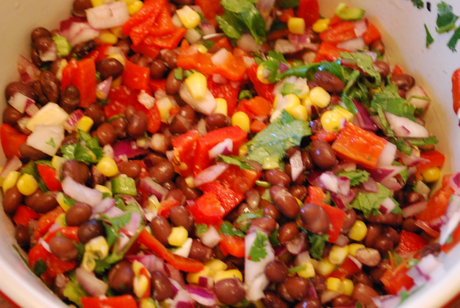 "Point-less"" Meals: Southwestern Black Bean Salad"