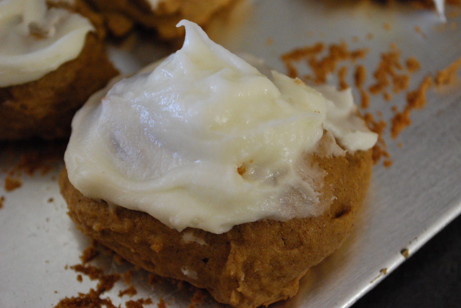 """Point-less"" Meals: Iced Pumpkin Cookies"