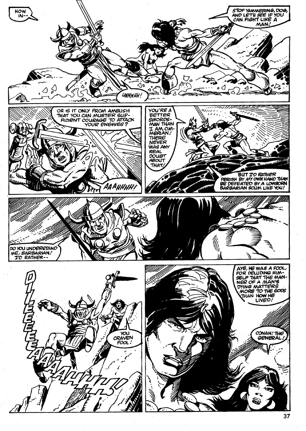 The Savage Sword Of Conan Issue #86 #87 - English 37