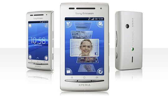 X8 Overview top Sony Ericsson Xperia X8