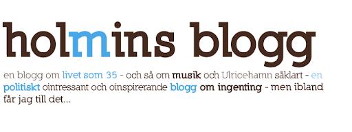 Holmins Blogg