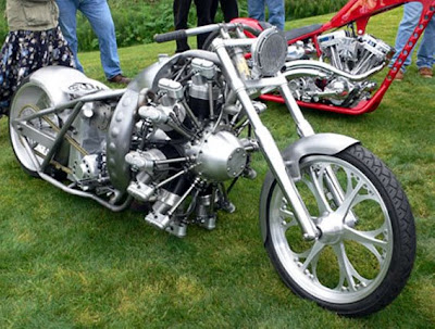Just a car guy   Radial engine customs are the coolest eye candy