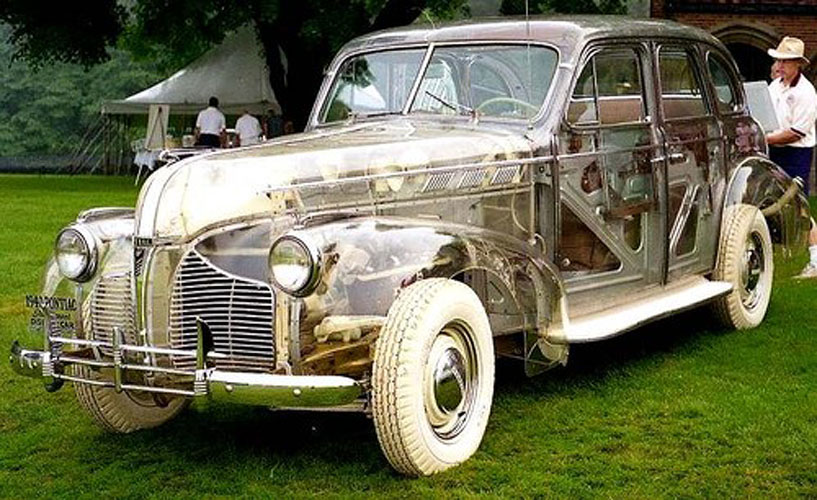 Automobiles you don't see everyday... - Page 4 1939-pontiac-transparent-show-car
