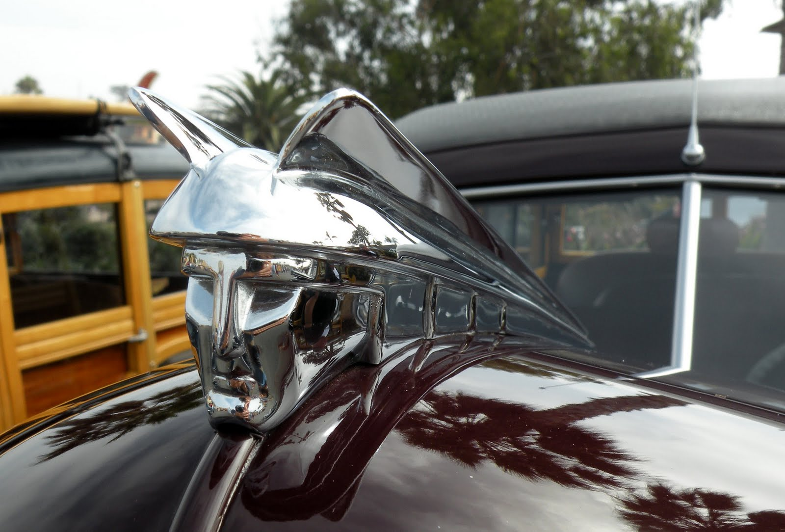 Cool hood ornaments - This Mercury Hood Ornament Is The First Time I Ve Noticed The Head Of The God Mercury As A Hood Ornament Cool Looks Like A Transformer Though