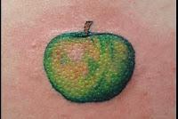 maça tatuagem