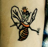 abelha rainha tattoo