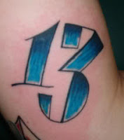 tatuagem número treze