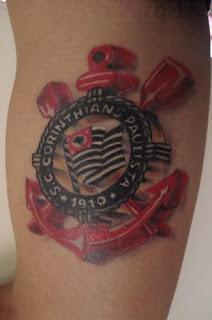 escudo corinthians tatoo