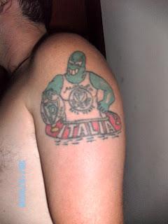 tatuagem torcida organizada