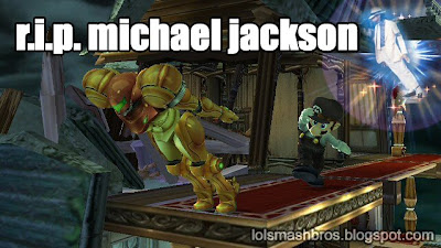 michael jackson rest in peace rip lean ssbb smash bros samus mario wii