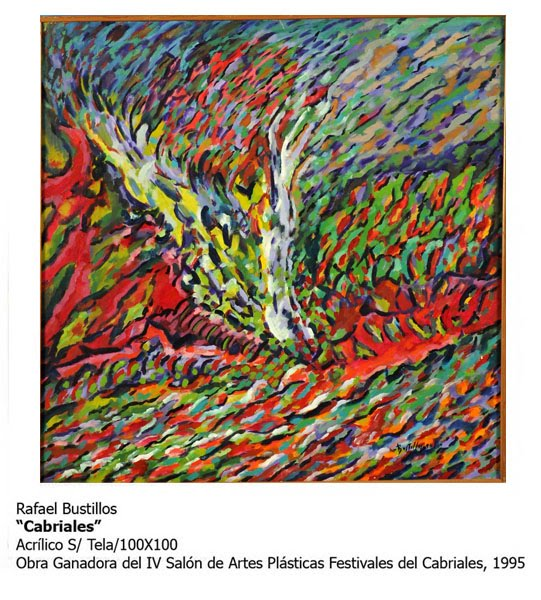 Obra de Rafael Bustillos.