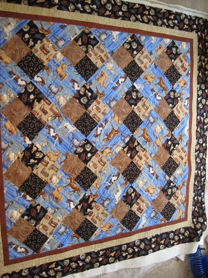 Thread Waggle Quilting: Cowgirl Quilt