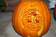 5th PlaceDoug & Alisia (pumpkin eating pumpkin)