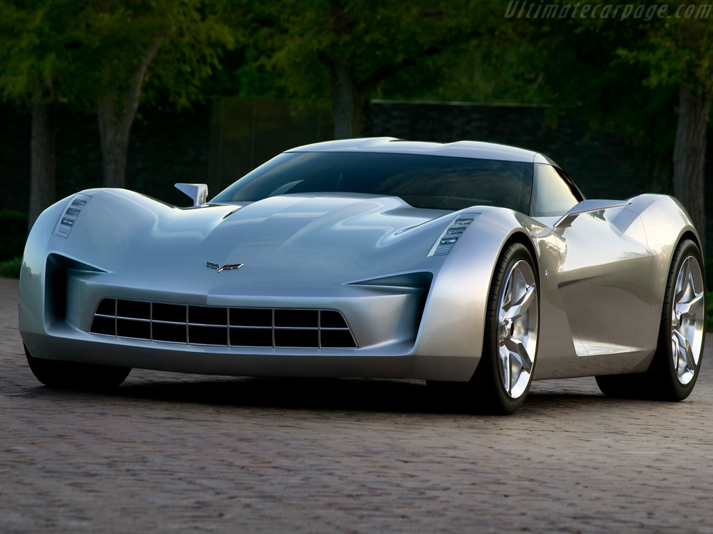 My Dream Sport Car: Chevrolet Corvette Stingray Wallpaper