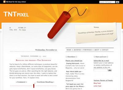 TNTPixel, Excellent Blog Designs