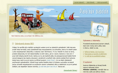 Blabolnik, Excellent Blog Designs