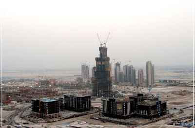 Downtown, Burj Dubai, Shape, Takes Shape
