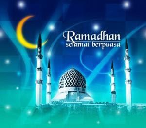 Jadwal Puasa 2010, 1431 Hijriyah, Ramadhan
