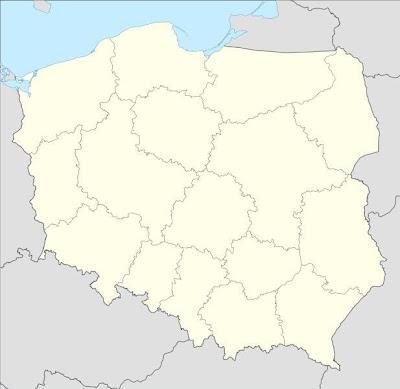 Bogatynia Map