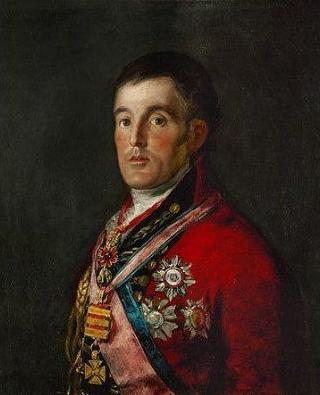 Portrait of the Duke of Wellington, Francisco Goya