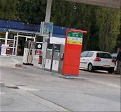 Station essence ouverte