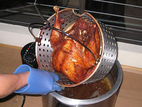 Deep Frying a Turkey, how to deep fry a turkey, how to carve a turkey, deep fried turkey, how to fry a turkey, how to brine a turkey