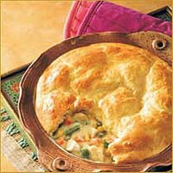 Turkey Pot Pie Recipe, Food Recipe
