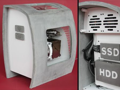 Concrete PC Case