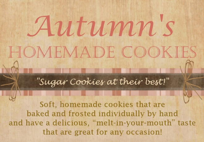 Autumn's Homemade Cookies