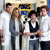 Emmett, Rosalie, Alice et Jasper