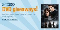 concours: gagnez le dvd de Twilight Access+Hollywood