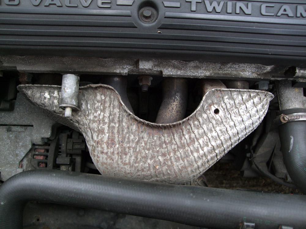 MG Rover 25 Build Blog Exhaust Manifold Heatshield