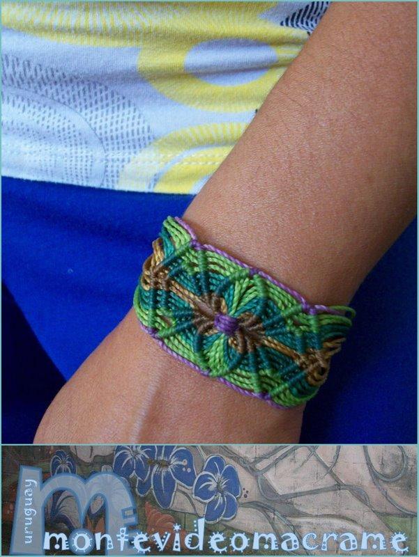 Diseños Para Tu Pulseras Con Hilo Encerado y Taringa! - imagenes de pulseras artesanales
