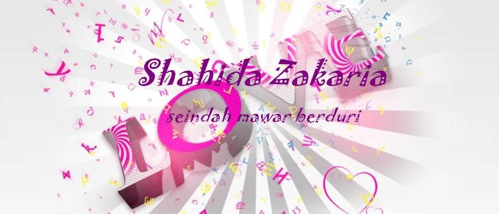 ~Shahida Zakaria~
