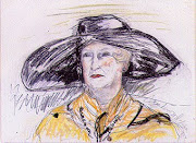 MOTHER IN A BLACK HAT, 1992