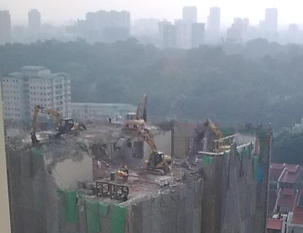 High Rise Demolition : Real estate investments in malaysia high rise demolition