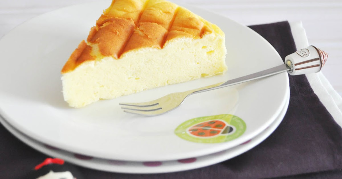 My Baking Recipes: Japanese Souffle Cheesecake