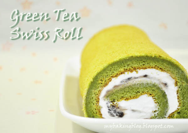 Japanese Swiss Roll Cake Recipe