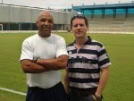 Ao lado do amigo Técnico André Luiz