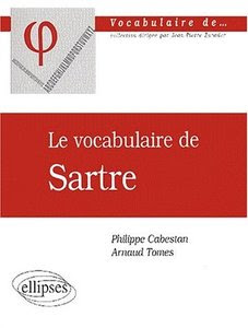 Le vocabulaire de Sartre
