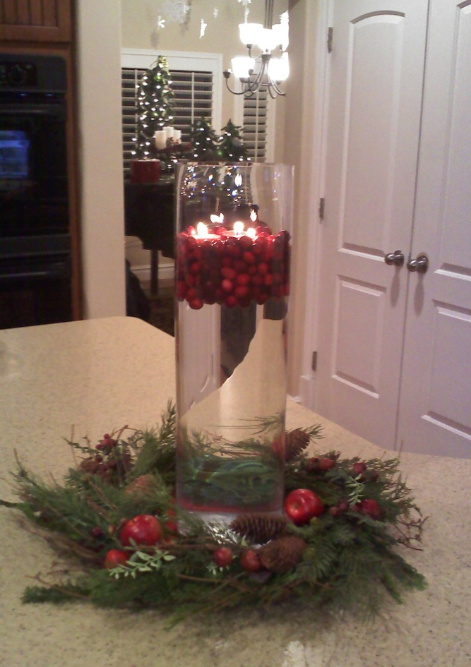 Jillily Studio PARTY! ~ 164652_Christmas Decorating Ideas With Glass Vases