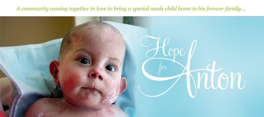 Hope for Anton